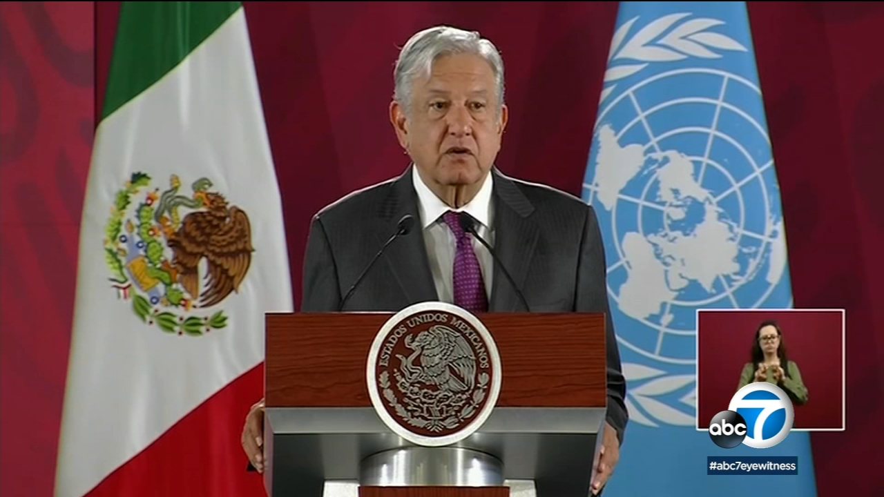 Mexico's President Lopez Obrador tests positive for COVID-19, says symptoms are mild