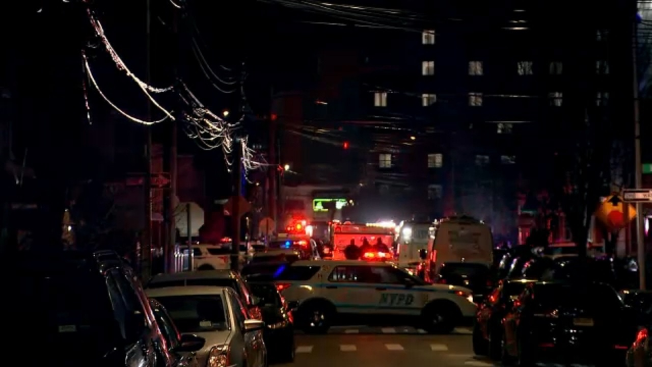 Suspect shot in the torso by police in Queens