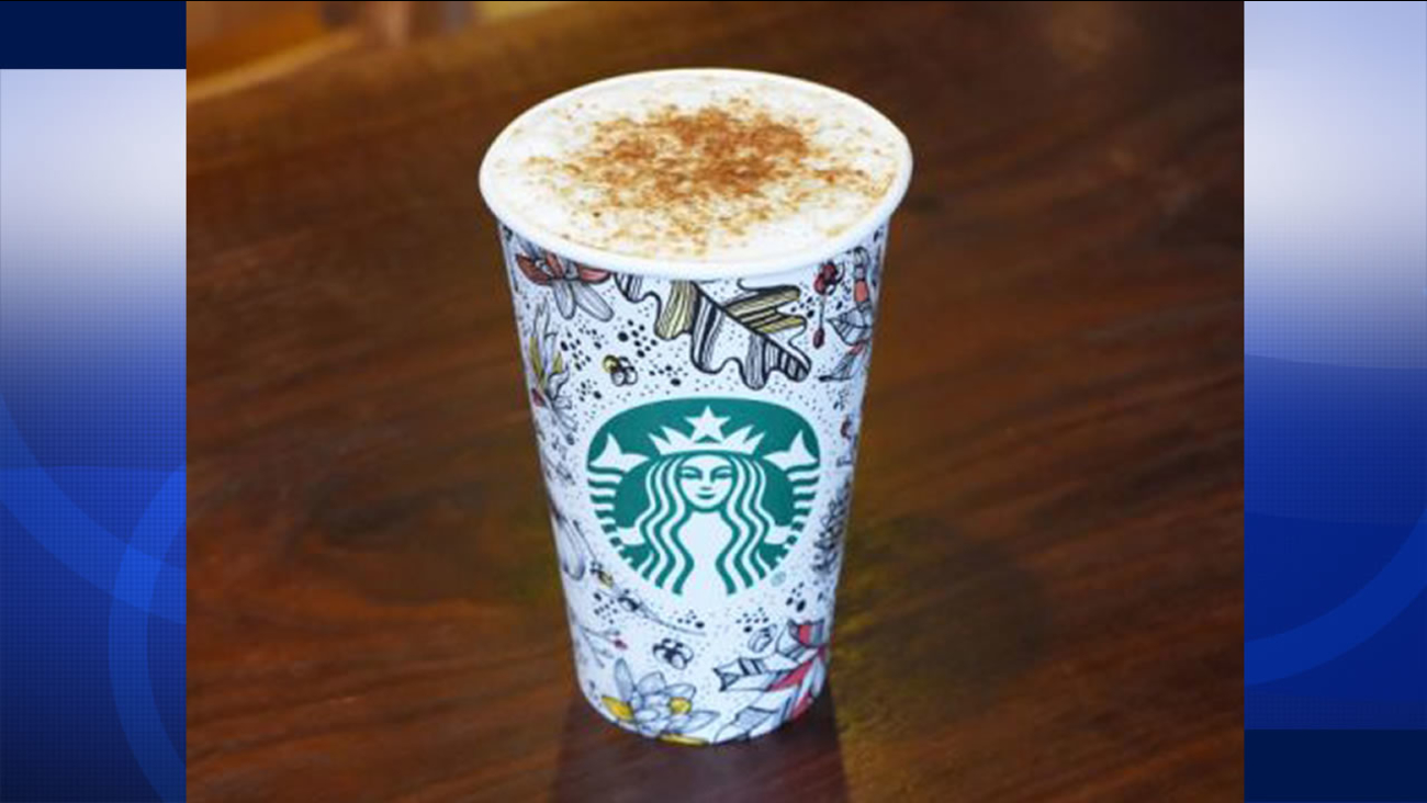 Starbucks' new toasted graham latte makes it debut this fall.