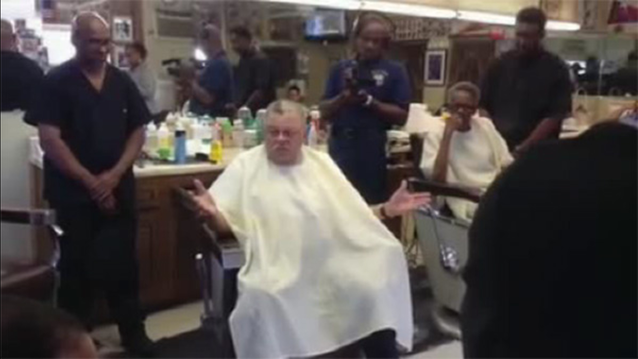 Ramsey's tough talk on city crime in barbershop podcast